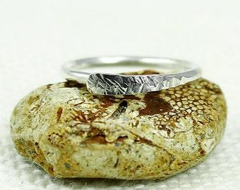 Toe Ring, Silver toe ring, Sterling Silver, 20, 19, 18, 16 Gauge, Hammered, Textured, Adjustable