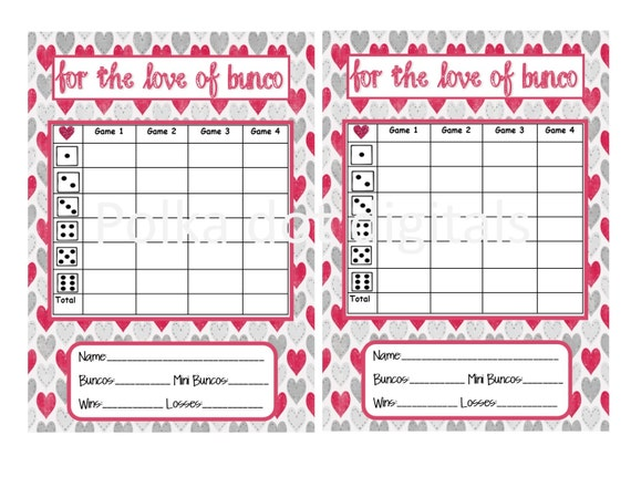 Buy  Get  Free Love Of Bunco ValentineS Complete Set