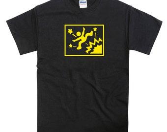 Mega Drive Jumping Man Action Game Japanese Box Art Tshirt