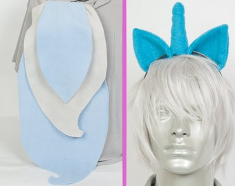 Trixie Adjustable Ears and/or Tail - buy as a set or separate! Costume sized for Kids or Adults