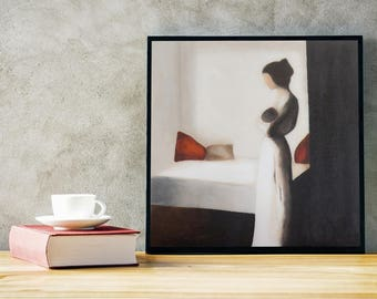 ORIGINAL PAINTING | Mother and Child | Perfect Morning