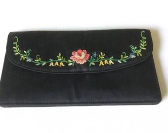 Victorian antique purse clutch waist purse