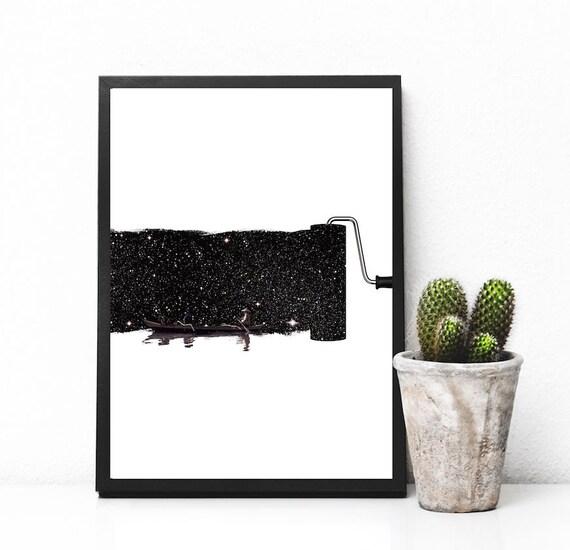 affiche minimaliste affiche noir et blanc affiche. Black Bedroom Furniture Sets. Home Design Ideas