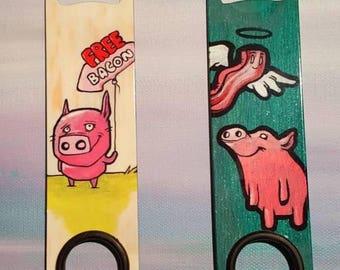 Piggy Bottle Opener