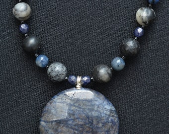 Night Sky Necklace and Earrings