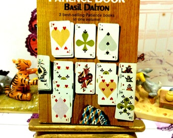 The Complete Patience Book Basil Dalton 1960s Pan Paperback Book Card Game Play Technique