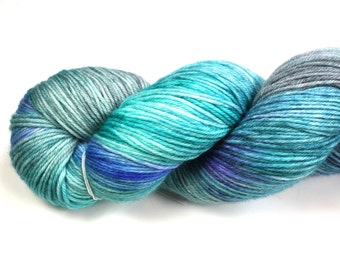 Opal--hand dyed sock weight yarn, MCN (435yds/100gm)