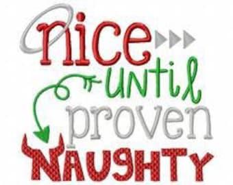nice untill proven naughty