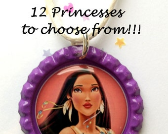 13 princess to choose from,princess necklace,kids jewelry, little mermaid,tangled,necklaxces,jewelry,jasmine jewelry
