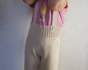 Organic wool toddler pants,baby trousers, baby pants, organic trousers, merino trousers, merino pants, knit pants, organic pants, baby pants