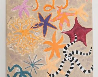 Scientific Starfish Fine Art Painting
