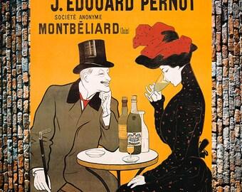Absinthe Nice Extra- Superieure, Vintage Liquor Ad Giclee Art Print, fine Art Reproduction