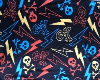 Neon Skulls and Bolts