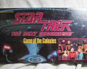 "Vintage Star Trek The Next Generation ""Game of the Galaxies"" board game (1993)"