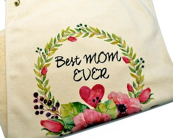 Best Mom Ever hand towel, Mothers Day gift, Gift for mom, Best mom gift, Mother's day gift, Mothers Day Gift, Hand towel, cotton towel