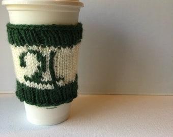 Sailor Jupiter Knit Coffee Cozy - reusable travel mug sleeve