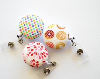 Set of Three Badge Reels