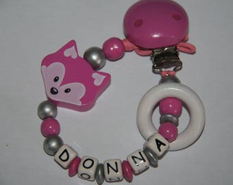 Personalized baby pacifier Dona