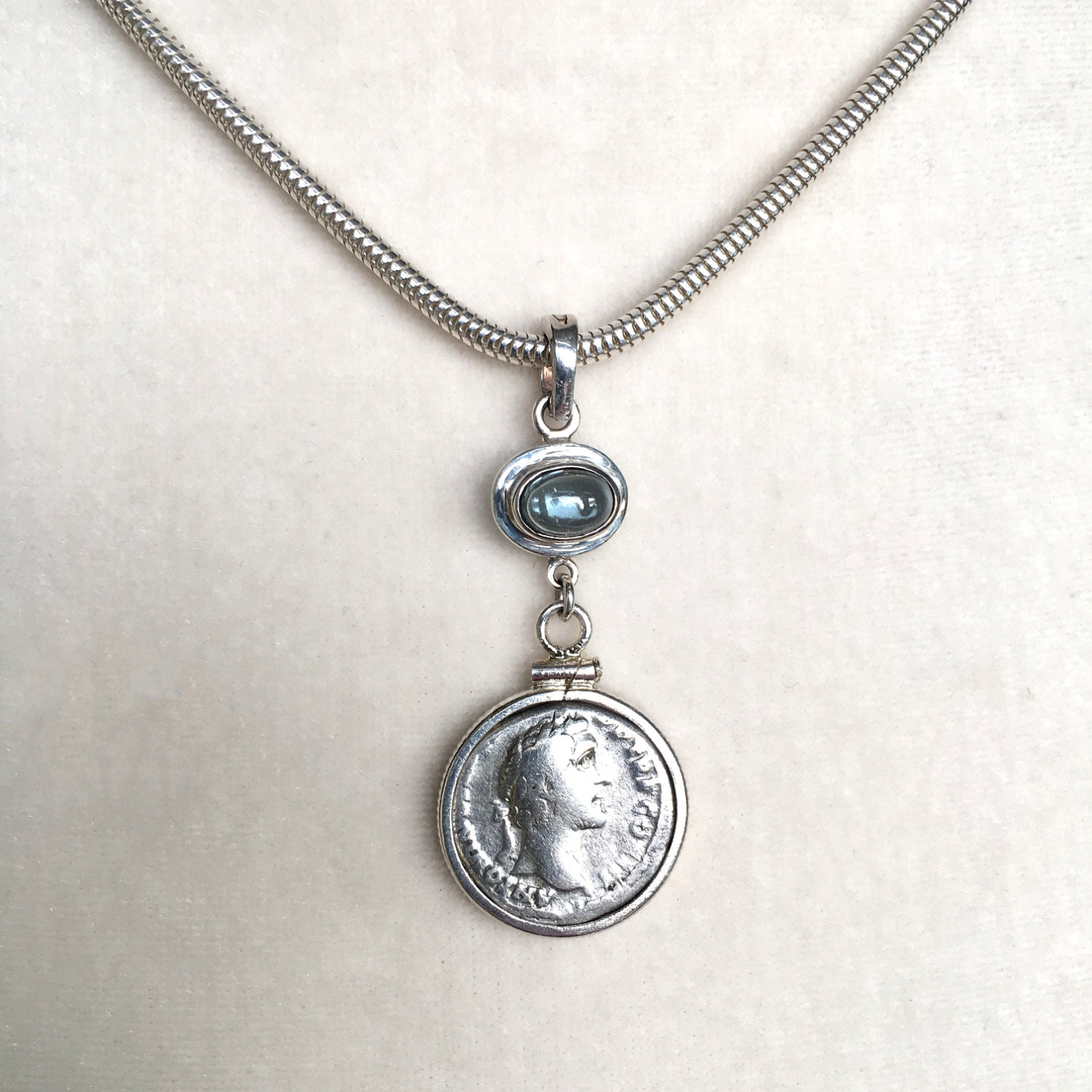 great necklace for coin roman pendant man a