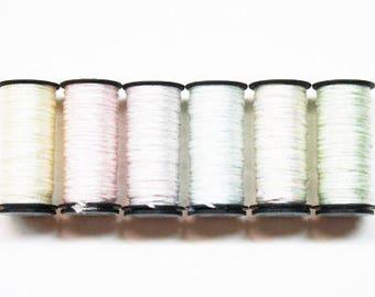Kreinik #16 Braid 4.00 Each, Kreinik Metallic Braid, Kreinik Metallic #16 Braid, Metallic Threads, Needlework Threads, Scrapbooking Threads