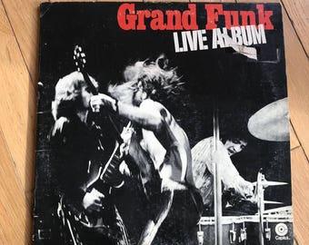 Grand Funk Railroad Live Original Double Album July 5 1970 Atlanta Concert Classic Rock Recording No Cuts CoverUp Plays lcww
