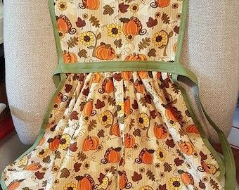 Autumn Adult Apron