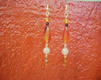 Fire Elemental Earrings