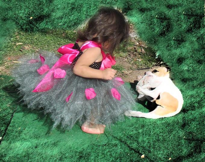 Gunmetal Embellished Dress