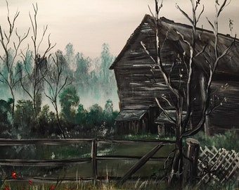 Old North Florida Tobacco Barn
