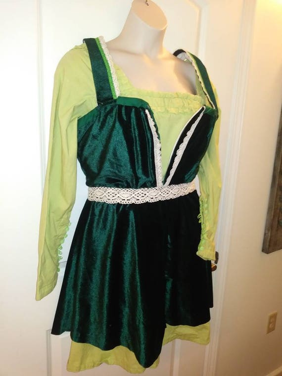 Renaissance Irish German dance dress size 16