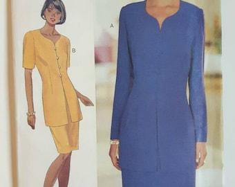 Butterick 3749 Suit Dress Sewing Pattern
