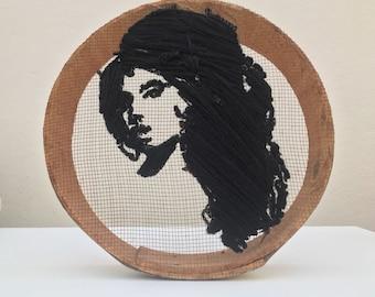 Face Portrait Embroidery