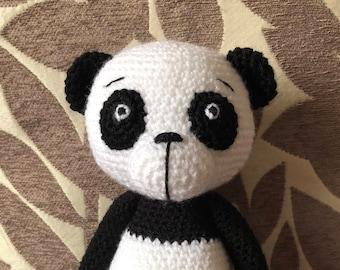 Crochet Panda Toy by Little Gems Crochet