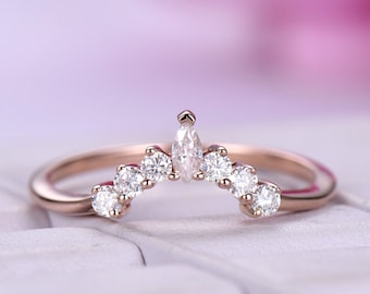 Petite wedding band Etsy