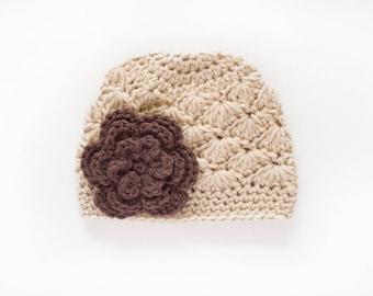 Girls Beanie / Hats For Girls / Crochet Girls Hat / Girls Winter Hat / Newborn Girl Hat / Baby Girl Hat / Toddler Girl Hat / Girls Hat