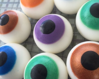 Eyeball Soap - Halloween Soap - Eye Soap - Halloween Favor - Gift Soap - Novelty Soap - Eye Soap Favor - Halloween Gift