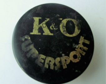 Vintage hockey puck, old hockey puck, hockey gifts, Czechoslovakia hockey puck, official hockey puck, gift for him.