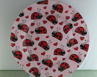 Decorative Lady Bug Plate