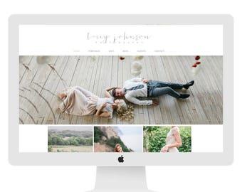 Wix Website Template, website design, photography website design, photography branding, photography blogsite, watercolor website, 4844