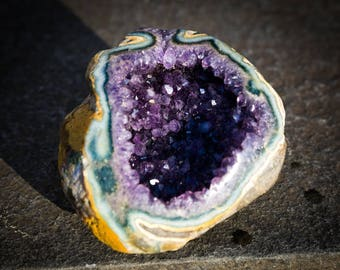 Amethyst Crystal Specimen - Amethyst Mineral Specimen - February birthstone - Genuine Uruguay Natural Amethyst - Incredible Amethyst