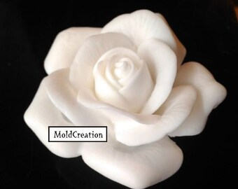 Silicone soap mold Rose