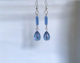 BluePurple Earrings