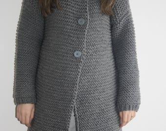 Knitted women's sweater, Damesjas