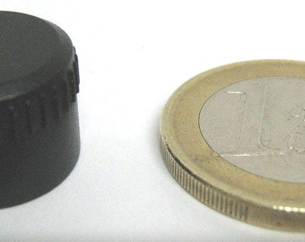 Cylindrical vintage knob to graft to pressure, without notch