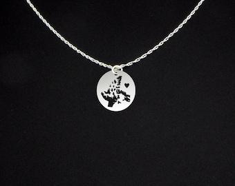Nunavut Necklace - Nunavut Jewelry - Nunavut Gift