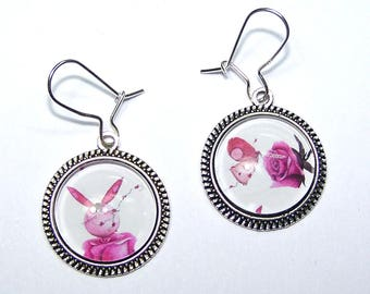 Earrings 'Fairy tale', 925 sterling silver hooks