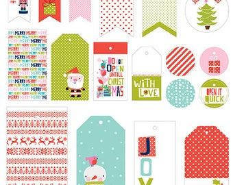 Bella BLVD Holly Jolly Christmas Gift Tags