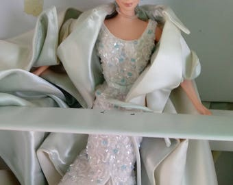 Mattel 1998 Crystal Jubilee Barbie Celebrating 40 Years of Dreams Limited Edition Doll