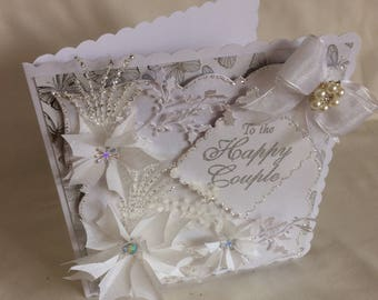 To the Happy Couple. Wedding card