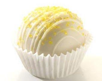 Lemon Cake Cheesecake Truffle